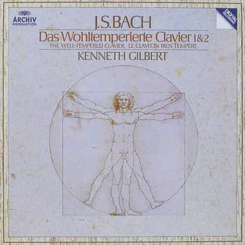 BACH - The Well-Tempered Clavier 1 & 2 - Kenneth Gilbert