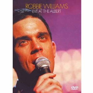 [DVD] ROBBIE WILLIAMS - Live At The Albert [미개봉]