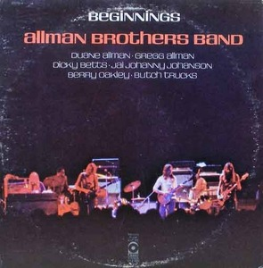 ALLMAN BROTHERS BAND - Beginnings